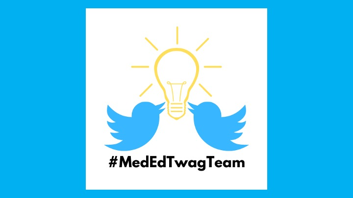 """4/ Before we jump in, I want to highlight a big update for the #MedEdTwagTeam We now have a team handle: @MedEdTwagTeam!!! Here we will curate all our Tweetorials as """"Moments"""" to make them more accessible. Follow! Like! ReTweet!"""