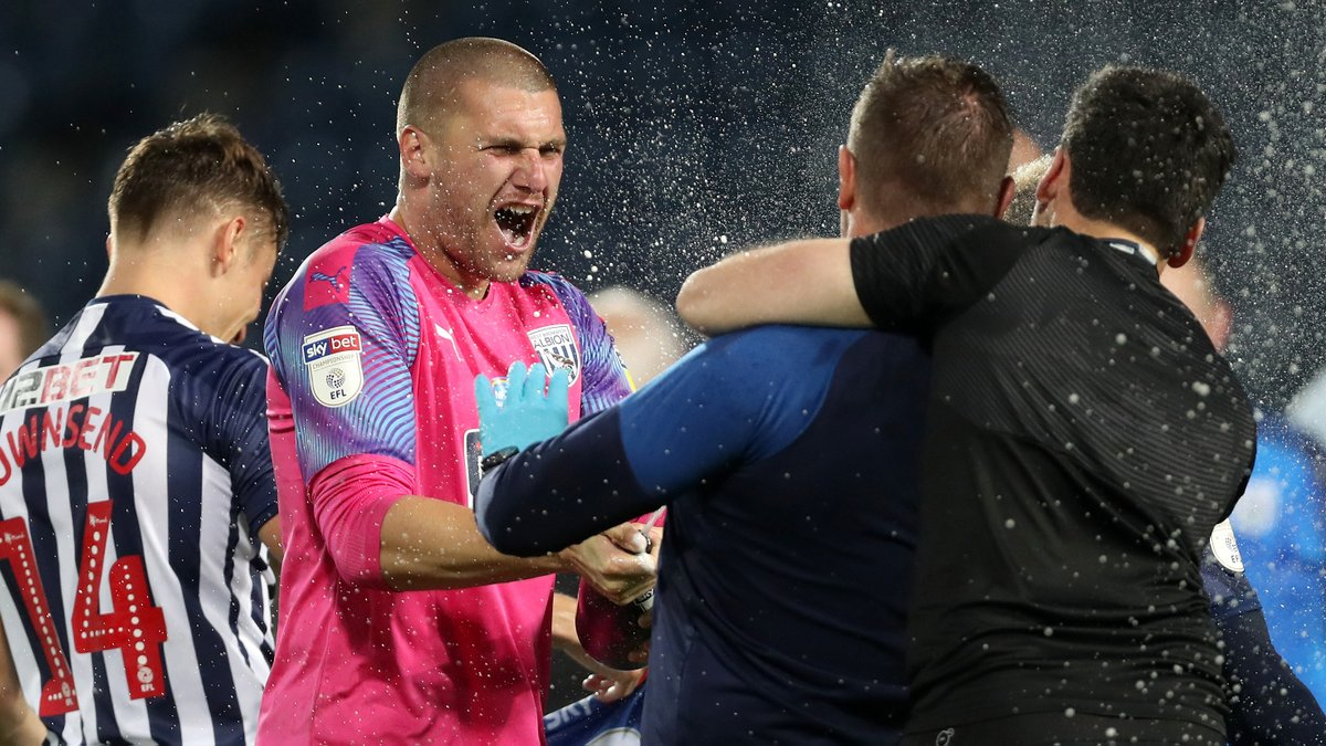 𝗦𝗝 𝟭 👊  Not a single minute of league action missed on our way to securing promotion to the @premierleague.  @samjohnstone50 | #WBA