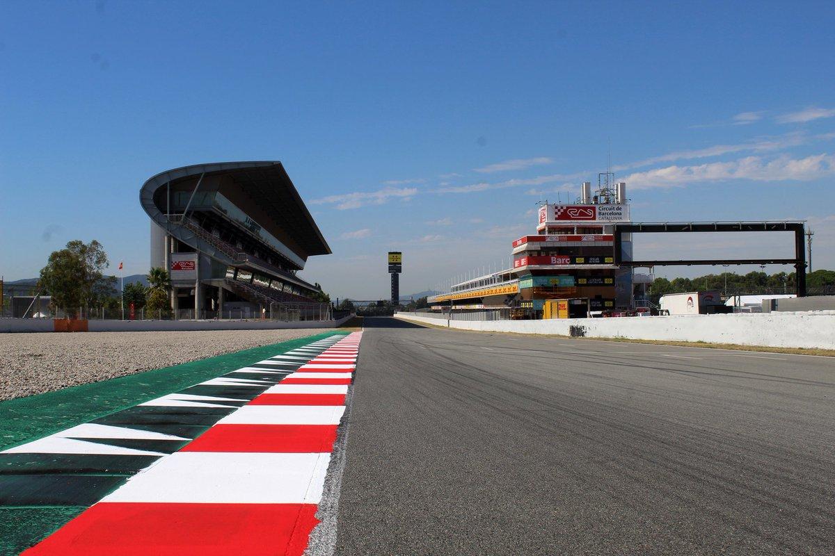 FORMULA 1 SPANISH GRAND PRIX - SESSION TIMES (ALL IN GMT)  Friday 14/08/2020 🚥 #FP1: 09:00 - 10:30 #FP2: 13:00 - 14:30  Saturday 15/08/2020 🚥 #FP3: 10:00 - 11:00 #Quali: 13:00 - 14:00  Sunday 16/08/2020 🚥⚫⚫⚫⚫⚫ Race: 13:10  #5AS #F1 #SpanishGP 🇪🇸🏎💨🏁 https://t.co/z7fi2izum5