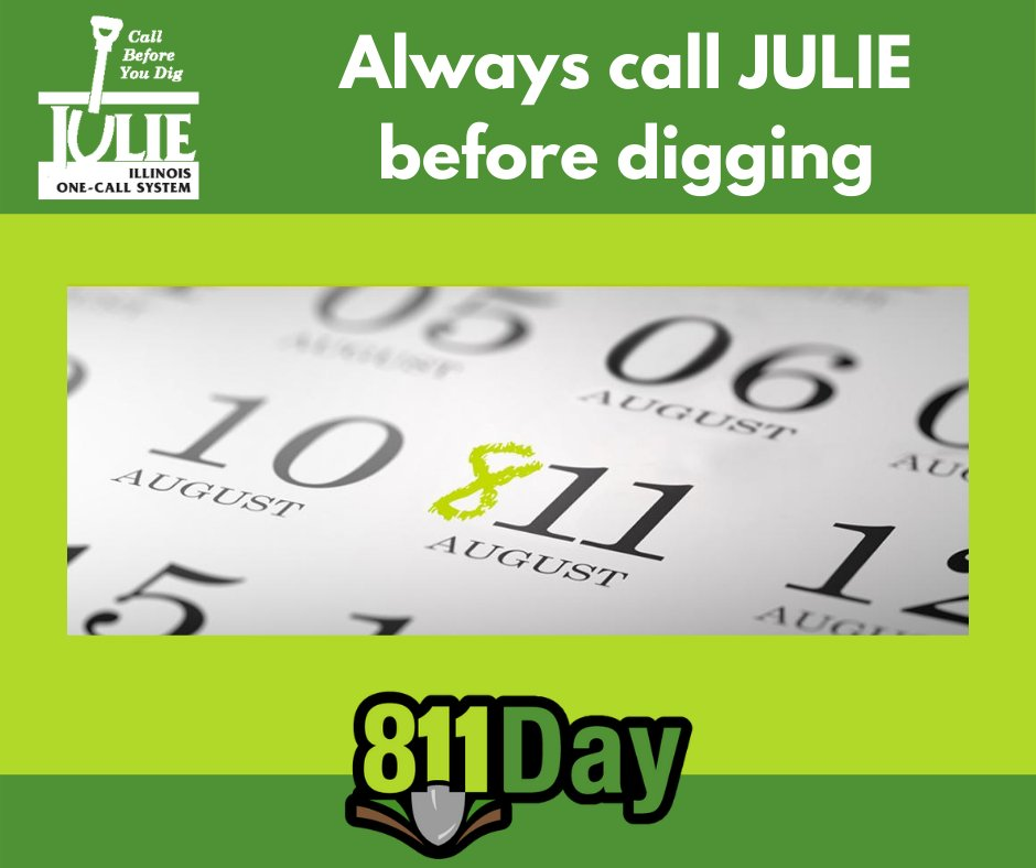 Napervilleil On Twitter It S 8 11 Day Homeowners And Professionals Alike Should Always Contact Julie1call Prior To Any Digging Project To Have Underground Utility Lines Marked Protect Yourself Your Family And Your Community Style, service, scholarship and success. twitter