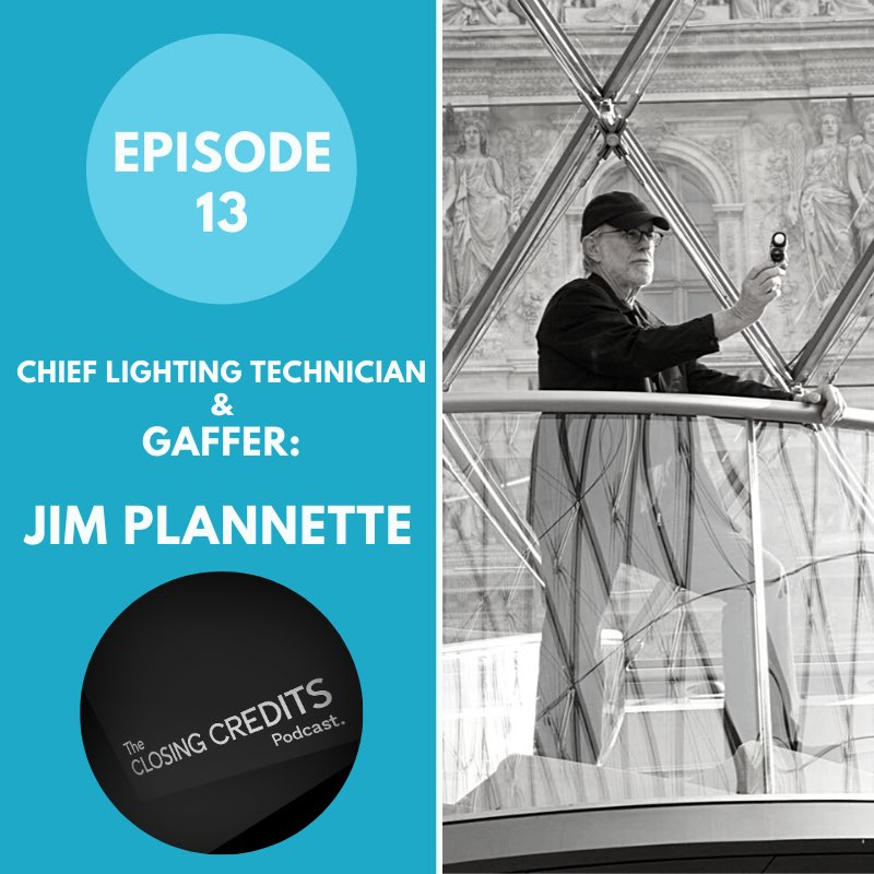 Ever wondered what a gaffer does in your favorite films? Checkout our latest interview with the legendary Jim Plannette everywhere you get podcasts! pic.twitter.com/X71V4Oh58x