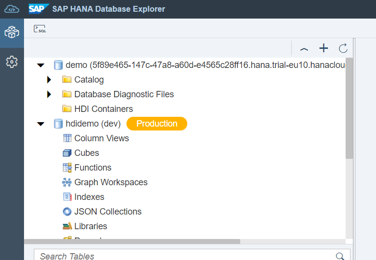 """cockpit.hanatrial.ondemand  trial 30 extend 90 days   open dashboard Hana database overview :  -Administration   -monitoring  -Security & user  management  udah berhasil created (screenshot database explorer) - sap hana db instance  """"demo"""" - HDI Container   """"hdidemo"""" https://t.co/SukRPzLaCT"""