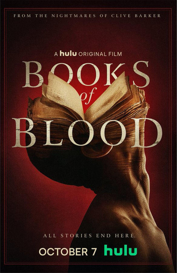 Based on Clive Barker's Anthology Horror Series, #BooksofBlood is coming to @hulu on October 7pic.twitter.com/TfZt3cHJQ4
