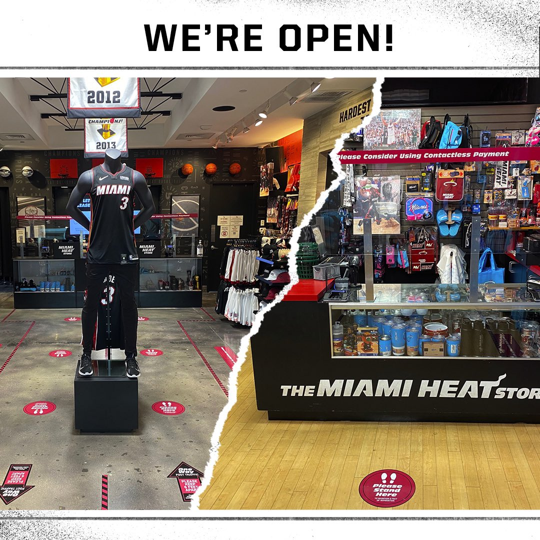 Our Dolphin Mall and Pembroke Lakes Mall locations have reopened!   Let's shop smart 👉 https://t.co/lbVGJWx1P2 https://t.co/1ofbKPkoim