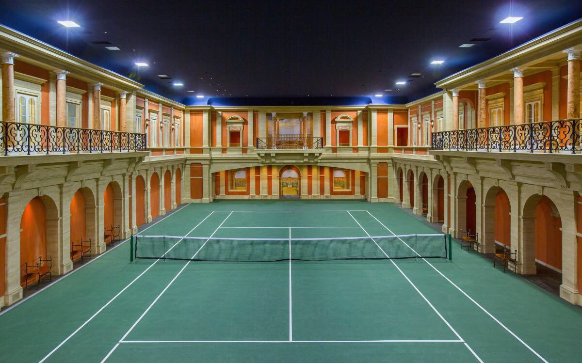 Your $5 Million Private #Tennis Court 💸💰💸 https://t.co/h4nSbFa1y9