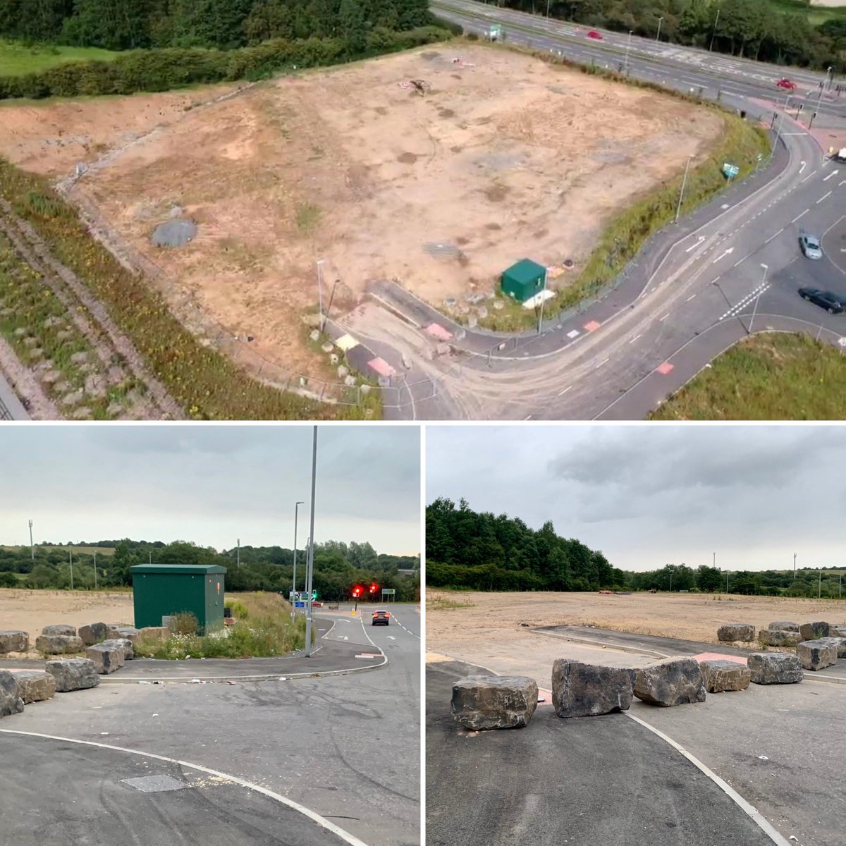 Progress now being made on site for a new #PFS and #DriveThru #CoffeeShop #Development off #A1M J59 #NewtonAycliffe - development supported by @DynamicTP #TransportAssessment https://t.co/46qaSrWhIp