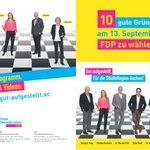 Image for the Tweet beginning: Unser #FDP Flyer zur Kommunalwahl