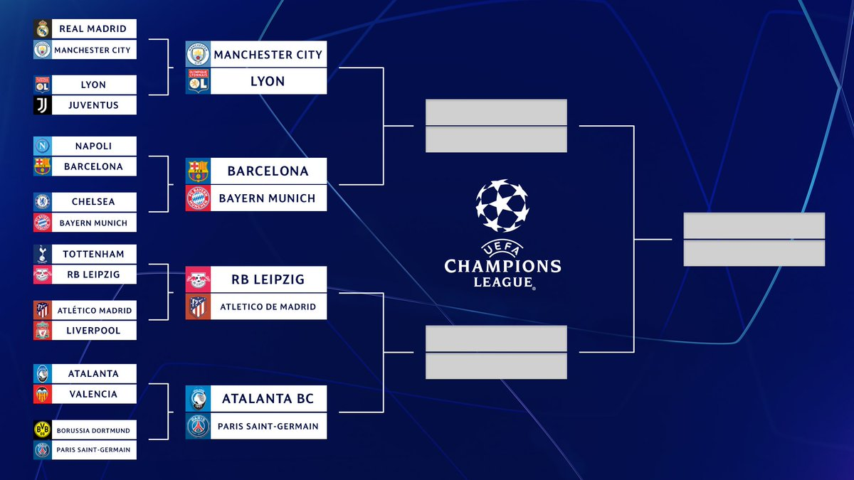 We can hear the music now…  The @ChampionsLeague Quarterfinals kick off tomorrow at 3:00 PM ET 👀  ➡️ https://t.co/5fGVUTzd1d https://t.co/bDiBkXs6pL