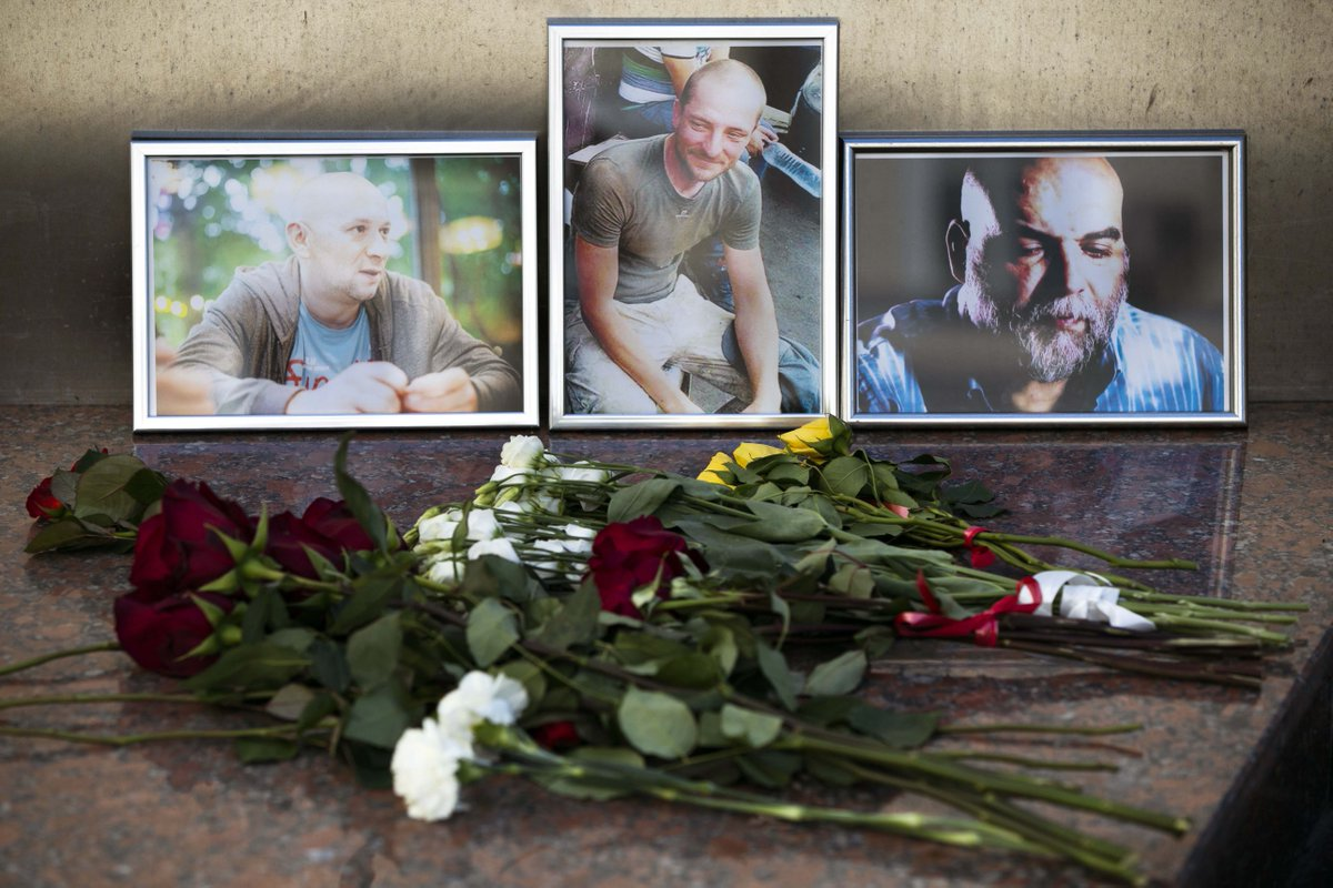 The Murder of Three Russian Journalists Should Not Go Unsolved https://t.co/yp0BHD6l1K https://t.co/ufv3egF1JW
