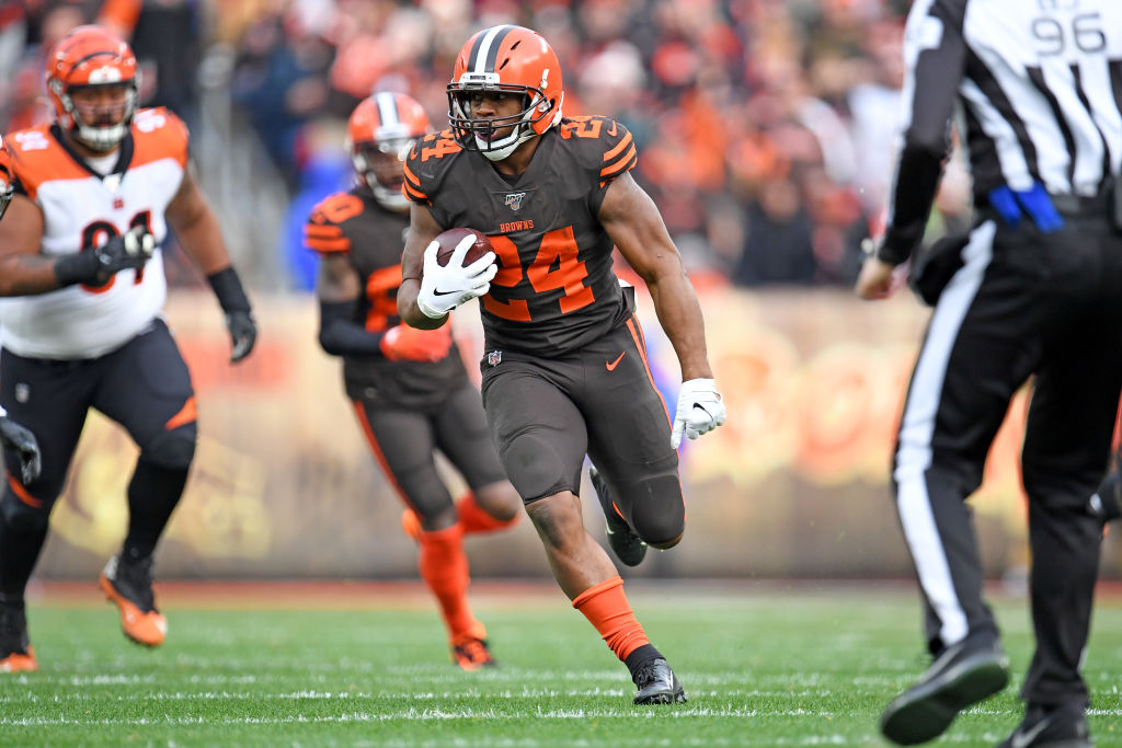 The highest-graded RB in the NFL since 2018:  🔸 Nick Chubb - 91.4 https://t.co/3MeHQApLD6
