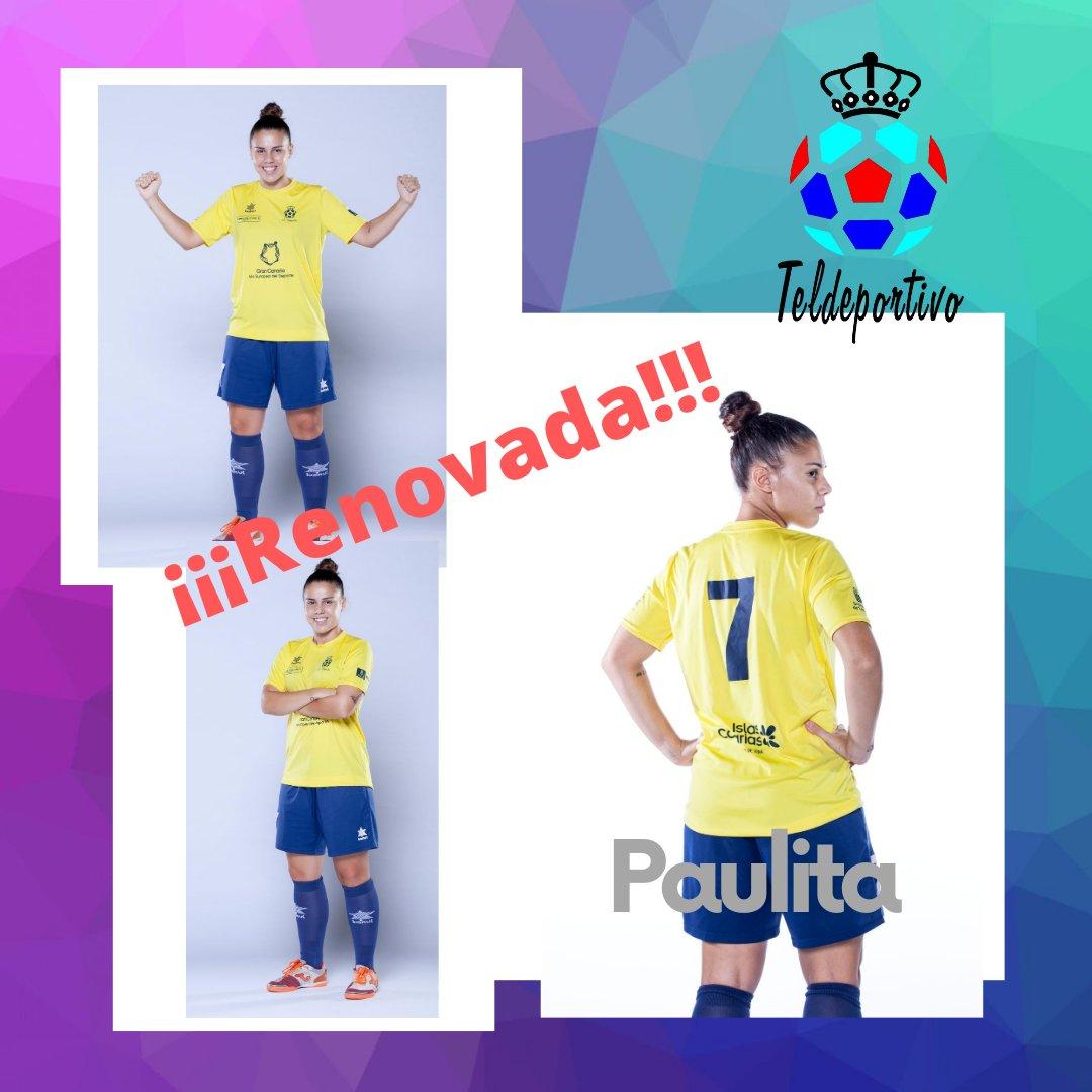 Décima temporada de Paulita en el Teldeportivo.