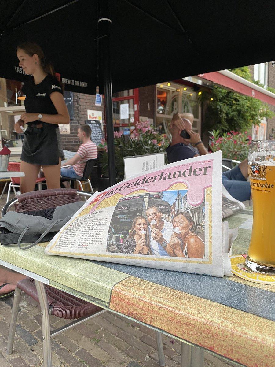 Na gedane arbeid is het (ook) thans goed toeven hier in Nijmegen-Oost