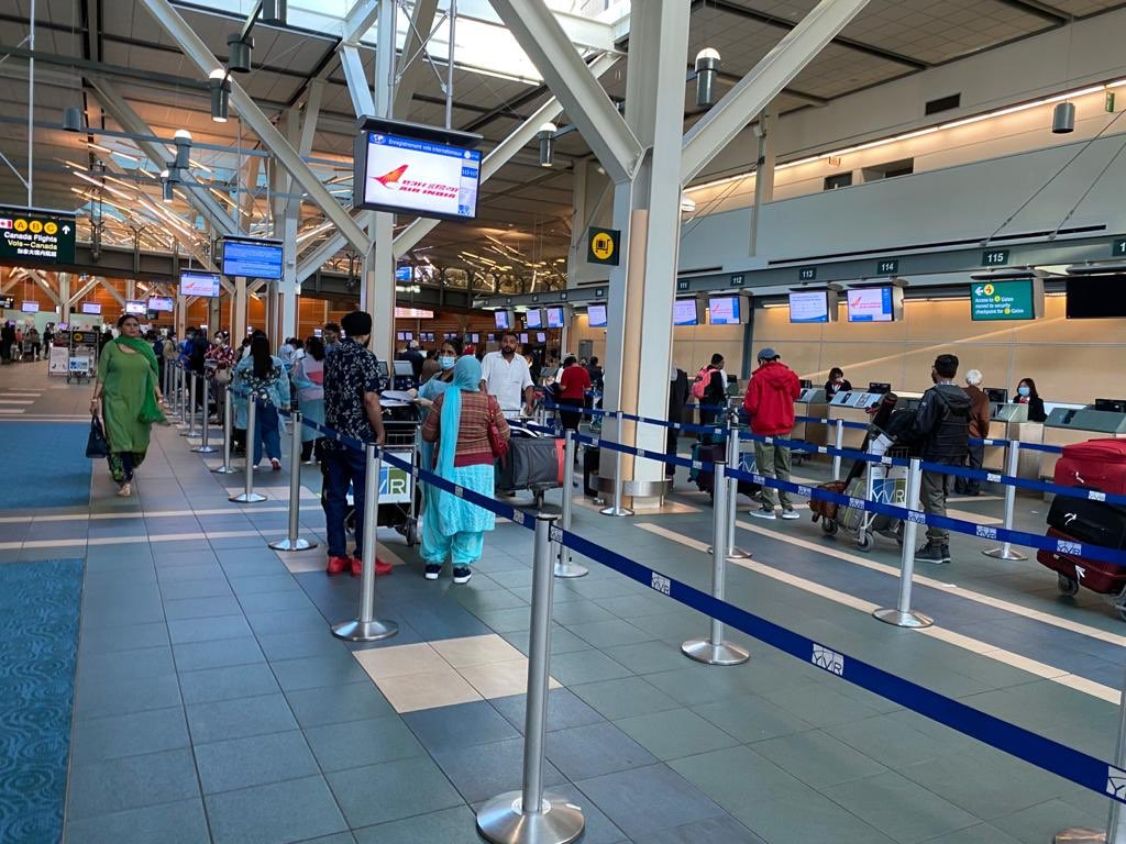 3rd flight under #VBMPhase5 and 9th repat flight from #Vancouver to #India took off on 9th Aug from @yvrairport #ShubhYatra @Ajaybis @HCI_Ottawa https://t.co/tswZHQIqum