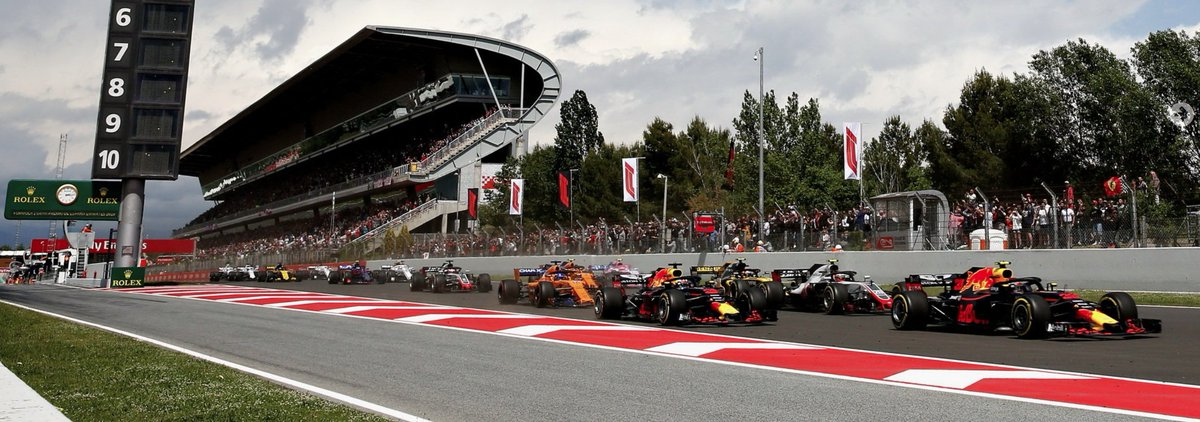 #F1 #SpanishGP All teams know the Barcelona circuit well given 2 weeks of pre-season in February. But racing in August with elevated ambient & track temperatures will bring a new challenge as we've already seen at Silverstone what warmer temperatures can do to the tyres. https://t.co/hZj2G8VVs4
