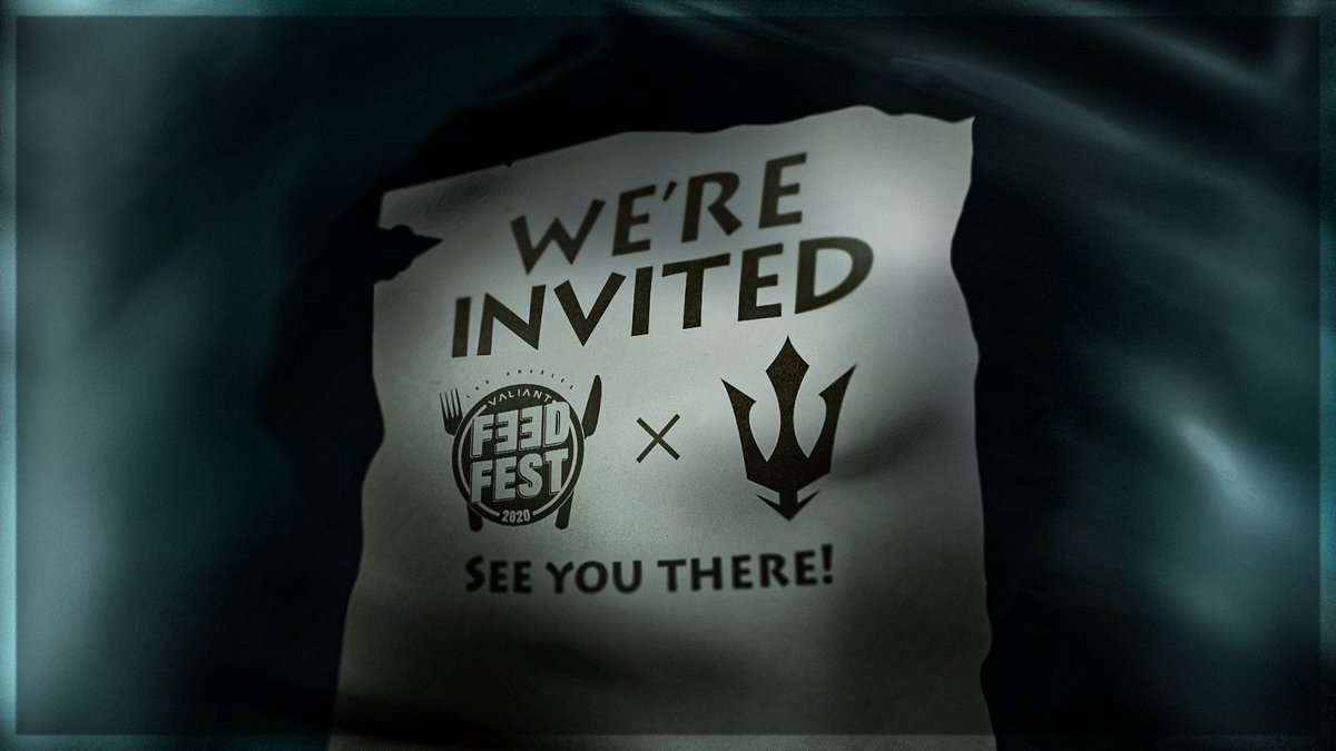 We've excited to announce our crew has been invited to the upcoming @LAValiant #FeedFest tournament!  Will we see you there? Register today!  🔗 https://t.co/KpXNLOibjS 🗓️ August 16-17 https://t.co/4F2T2vIjUo