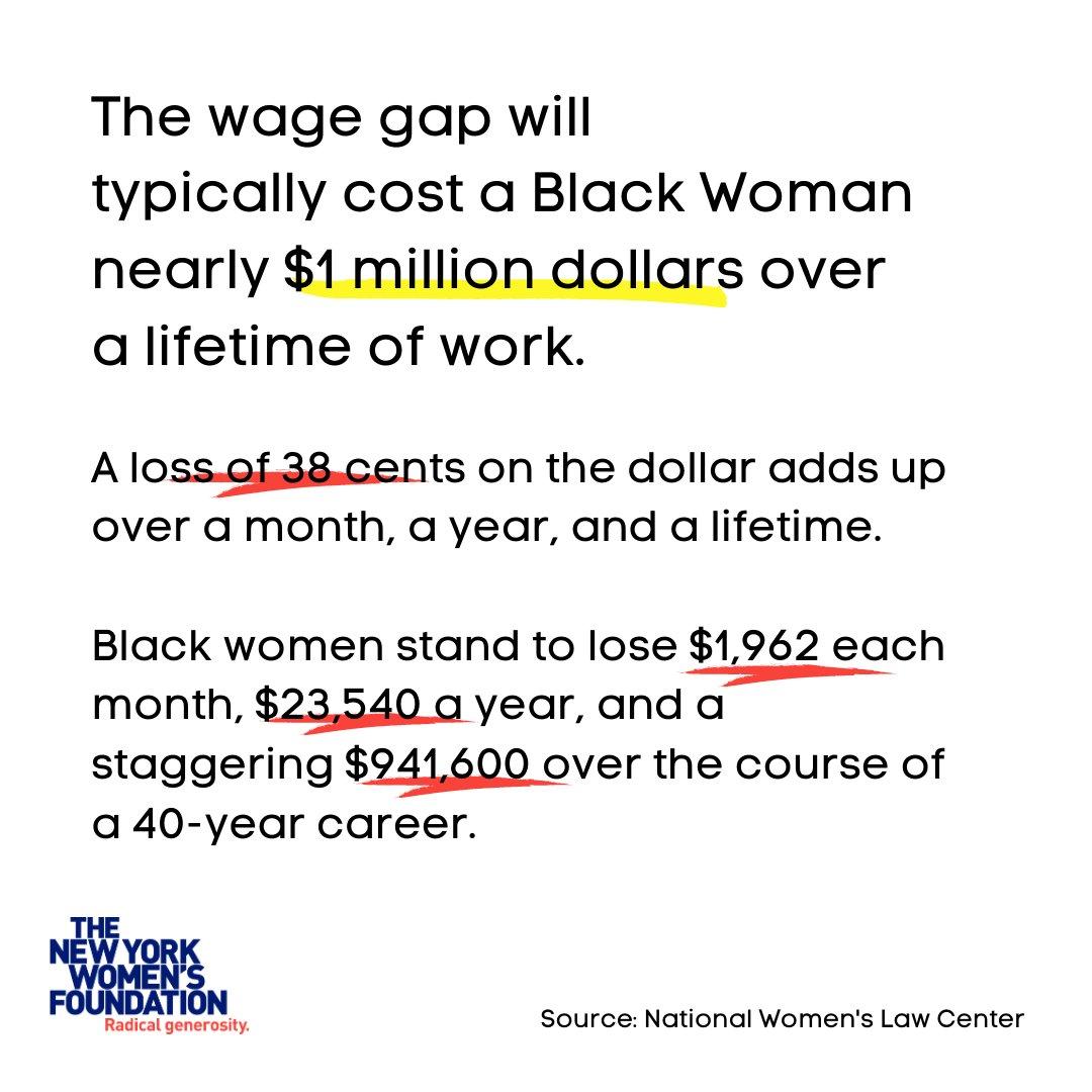 Today! #BlackWomensEqualPayDay ! https://t.co/q9QG8WFWpH