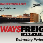Image for the Tweet beginning: Airways Freight  -