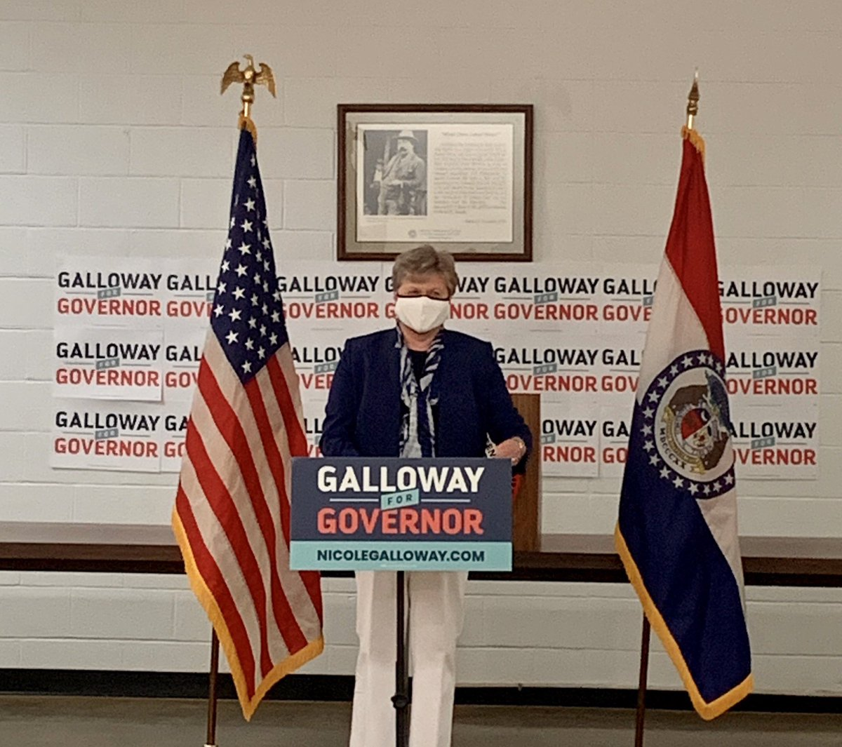 Excited to be joining @nicolergalloway for an event in Cape Girardeau today!  Missourians all across the state deserve real, authentic leadership. It's why I'm running for Congress & why Auditor Galloway is running for Governor.   We're honored to be in this fight with her. https://t.co/OfiqnzOxwP