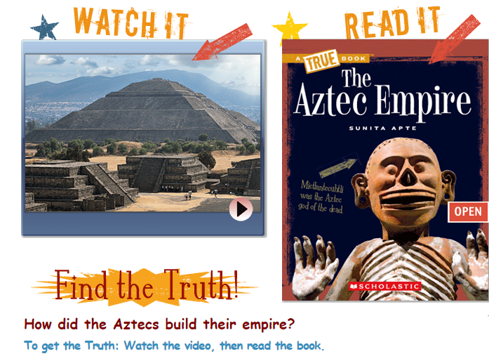 Spanish conquistador Hernán Cortés captured Tenochtitlán (now Mexico City) #OTD 1521, thereby ending the Aztec empire. Learn about the Aztec empire in TrueFLIX. https://t.co/X0Hk7RRXO7 #literacy #read #AztecEmpire #OnThisDay #onlinelearning #powerlibrary https://t.co/EFd1Q560Vk