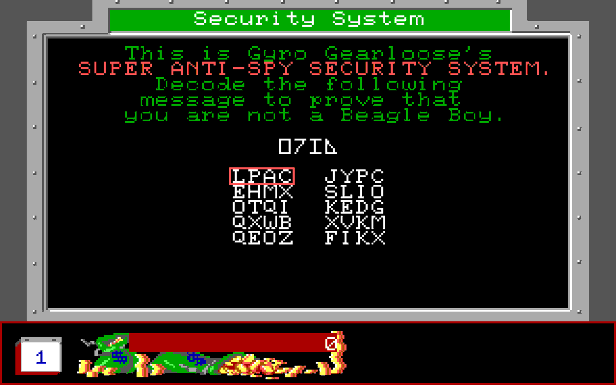 """I think my interest in #infosec began at age 6 or 7 after I lost the instruction book for my Ducktales: The Quest for Gold manual that had the decipher key to bypass the """"security system"""" and I had to brute force it and create my own key guide https://t.co/kQuVvjY20r"""