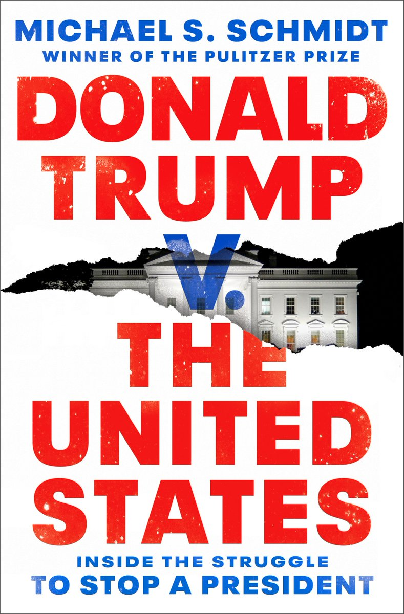 """My book """"Donald Trump v. The United States"""" will be published on Sept. 1st. The reporting draws on a series of interviews and a review of a range of government documents that have never been made public. https://t.co/Wb8V7f7544 https://t.co/8paWNPs8uV"""