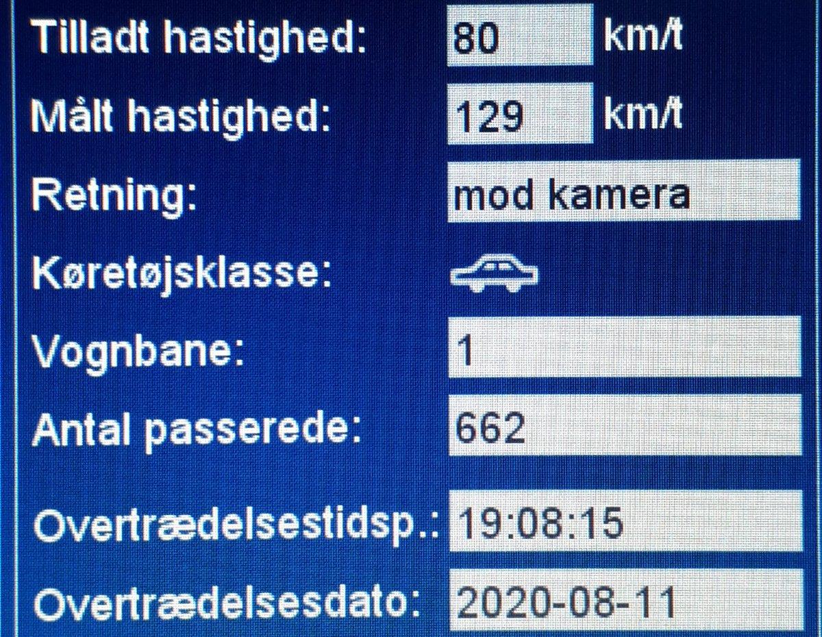 På trods af ugens skolekampagne kører vi også borgerhenvendelser. Det opdagede 11 bilister for sent i aften, på Flensborg Landevej ved Dybbøl i Sønderborg kommune. Så de får en kedelig hilsen i E-boks. 2 får også et klip for hastigheder op til 129km/t i 80zone #atkdk #politidk https://t.co/adBwiw3jxF