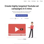 Image for the Tweet beginning: Biteplay: Targeted Youtube Ad Campaigns