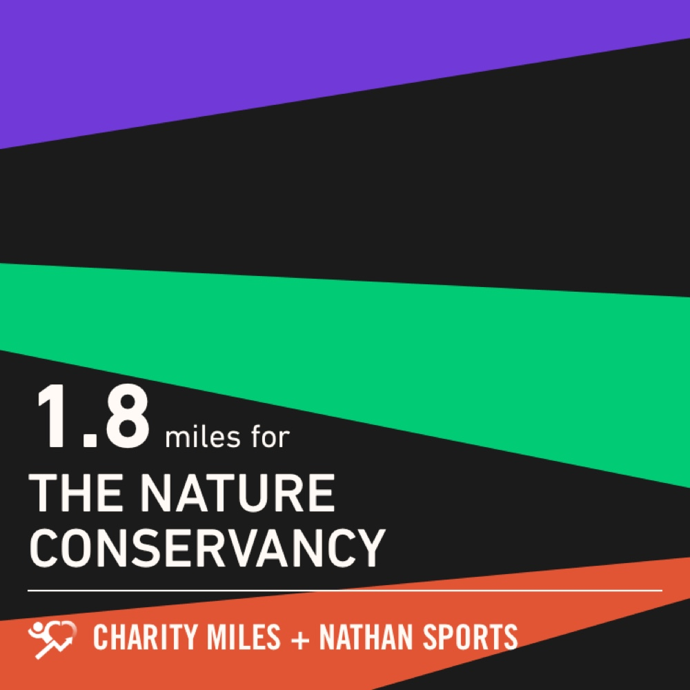 I walked 1.8 @CharityMiles for @nature_org. https://t.co/qQ1pWX6tV8