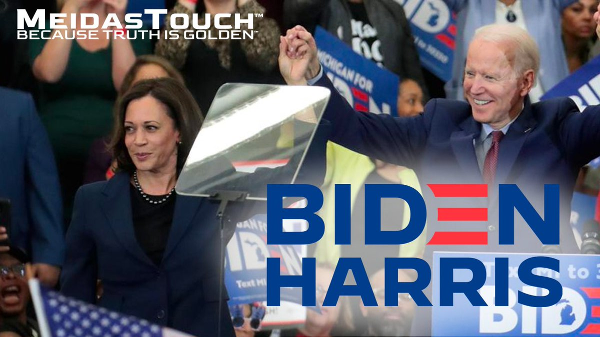 📺 NEW VIDEO  Retweet if you are voting for the #BidenHarris2020 ticket. https://t.co/0ETNgjSWKY