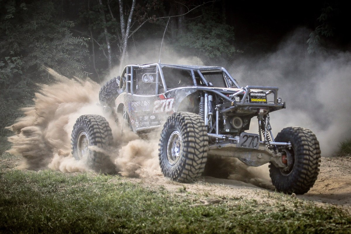 Brian McVay letting it all hang out during Qualifying at the 2020 4WP Tear Down in Tennessee. Based on yesterday's schedule drop for 2021 season, what race (beside KOH!) are you most excited about? #Ultra4 #KOH2021 #TDT2020 #MakeDust #GoFast #HaveFun #BackOnCourse