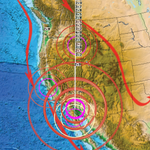 Image for the Tweet beginning: Earthquake Swarm in #California #NewsBurstLive
