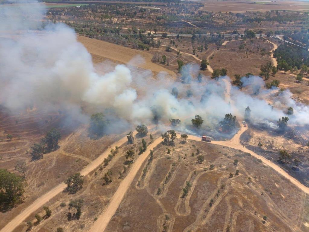 Imagine loving a land so much that you set it on fire several times a day. This is Hamas burning what they call Palestine.
