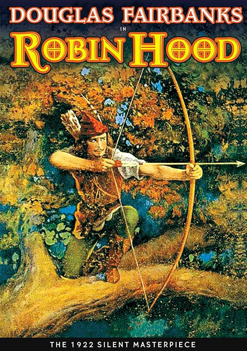 Alan Hale Sr. played Little John in 3 different Robin Hood films opposite 3 different Robins.  #TCMParty #Robinhood #PopCulture pic.twitter.com/Hs6OftWipP