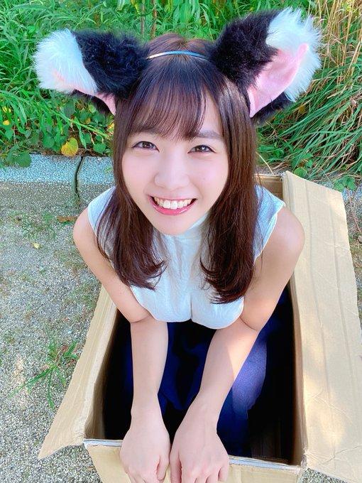 グラビアアイドル天羽希純のTwitter自撮りエロ画像2