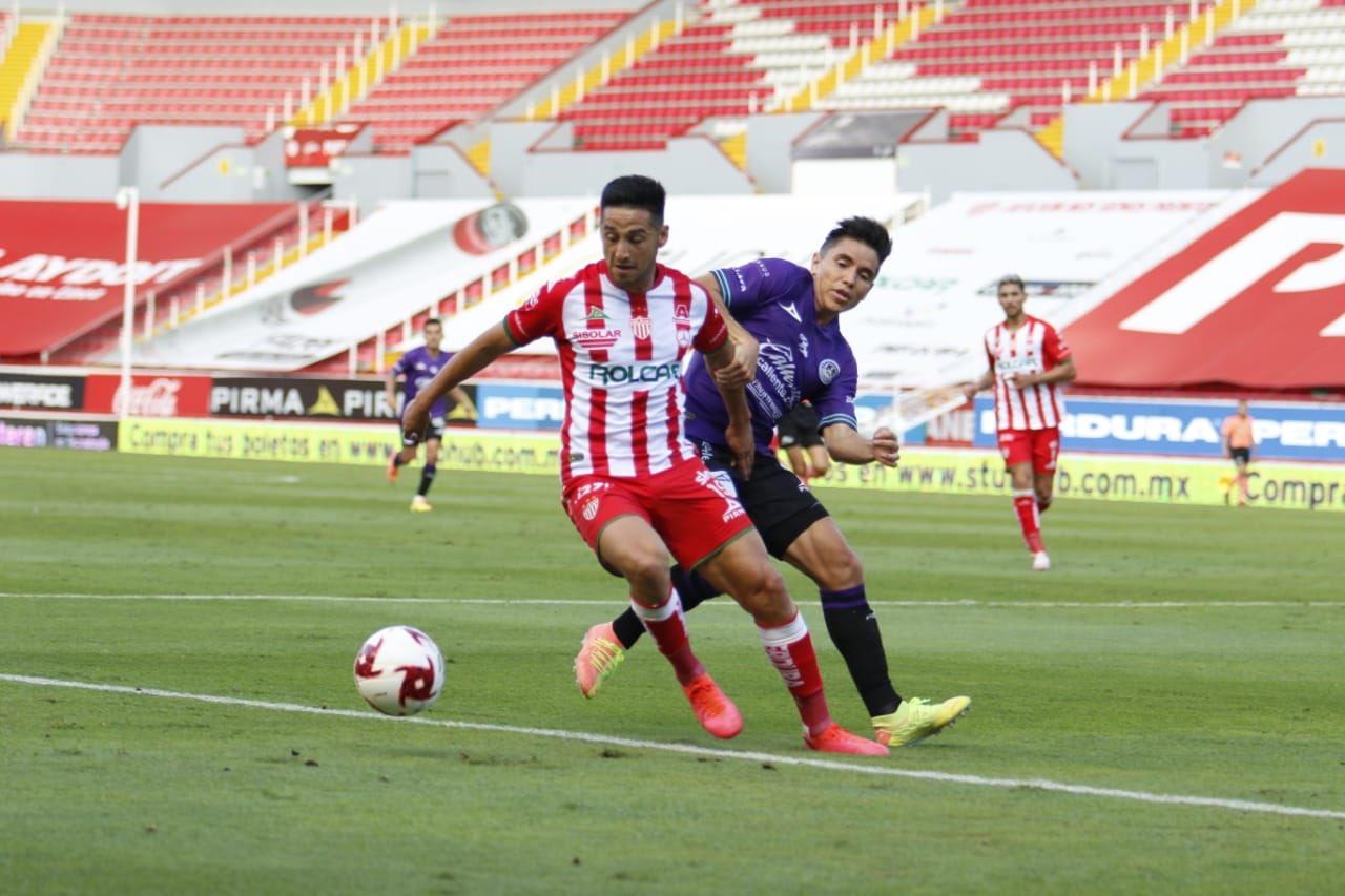 Necaxa vence a Mazatlán FC por la mínima y deja el último lugar de la Liga Mx