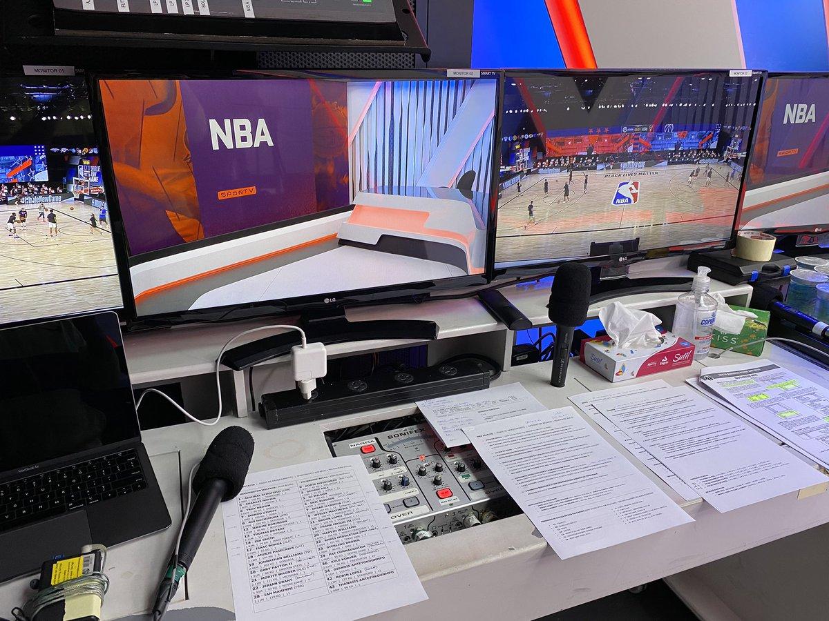 O monstro @sergeta , narrador esportivo brilhante do @SporTV e membro eterno da família QQ, vai narrar Washington Wizards x Milwaukee Bucks agora às 22h no SporTV 2. Não deixem de acompanhar porque vai ser SENSACIONAL!  Boa transmissão, Sergião!  #NBA #Wizards #Bucks #basquete