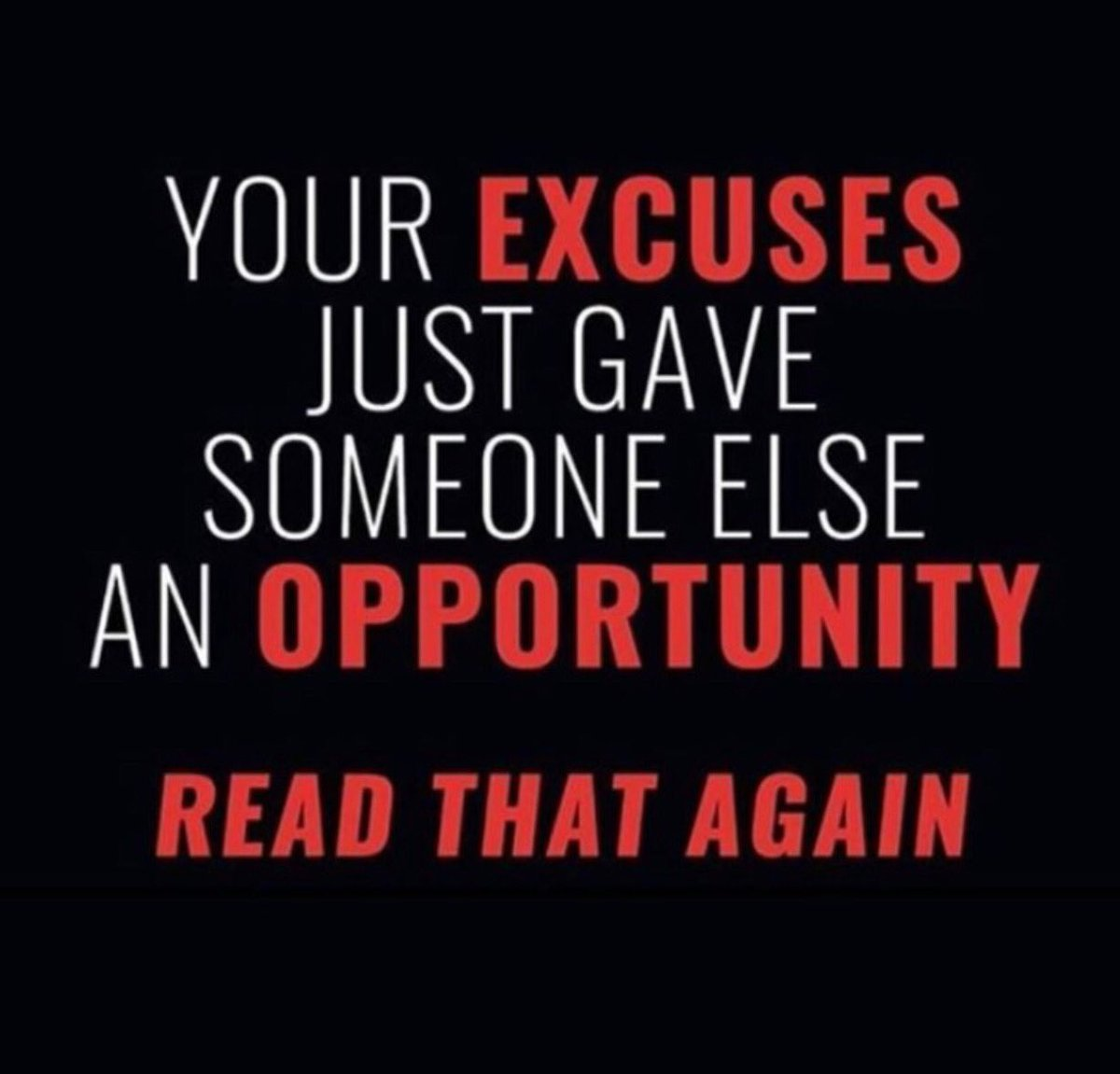 Something you need to know about your excuses... #Mindset #Mentaledge