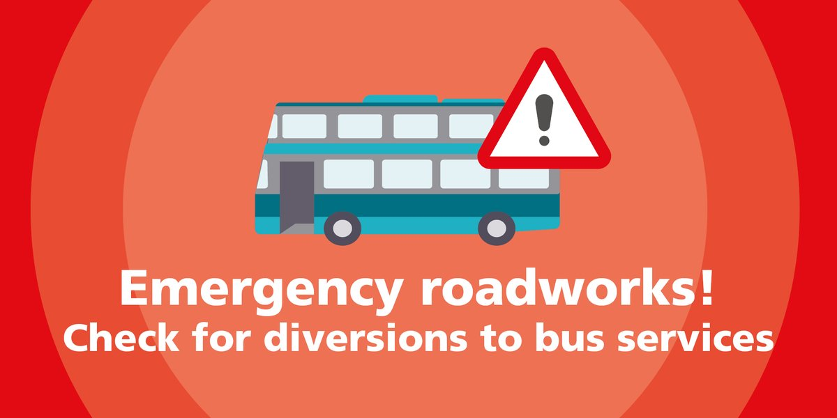 ⚠️🚌 North Road in #Ravensthorpe near #Dewsbury is closed for gas works  🚌 Bus service 202 & 205 diverted via #A644 Huddersfield Road, Church Lane and Dunbottle Lane during these works.   ℹ️👉https://t.co/58KAsZnb9h  #WYBus #Kirklees https://t.co/uxpfk7213s
