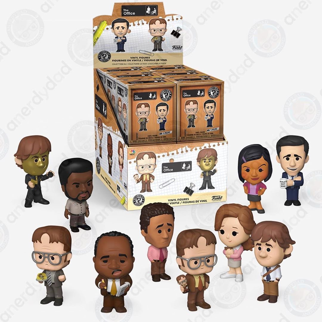 First look at the The Office Mystery Minis. #theoffice #funko . Repost @anerdydad