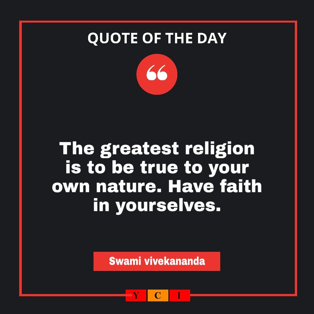 Quote of the day . . . #qoutesoftheday #swamivivekananda #qoutespic.twitter.com/EMxEAwef8w
