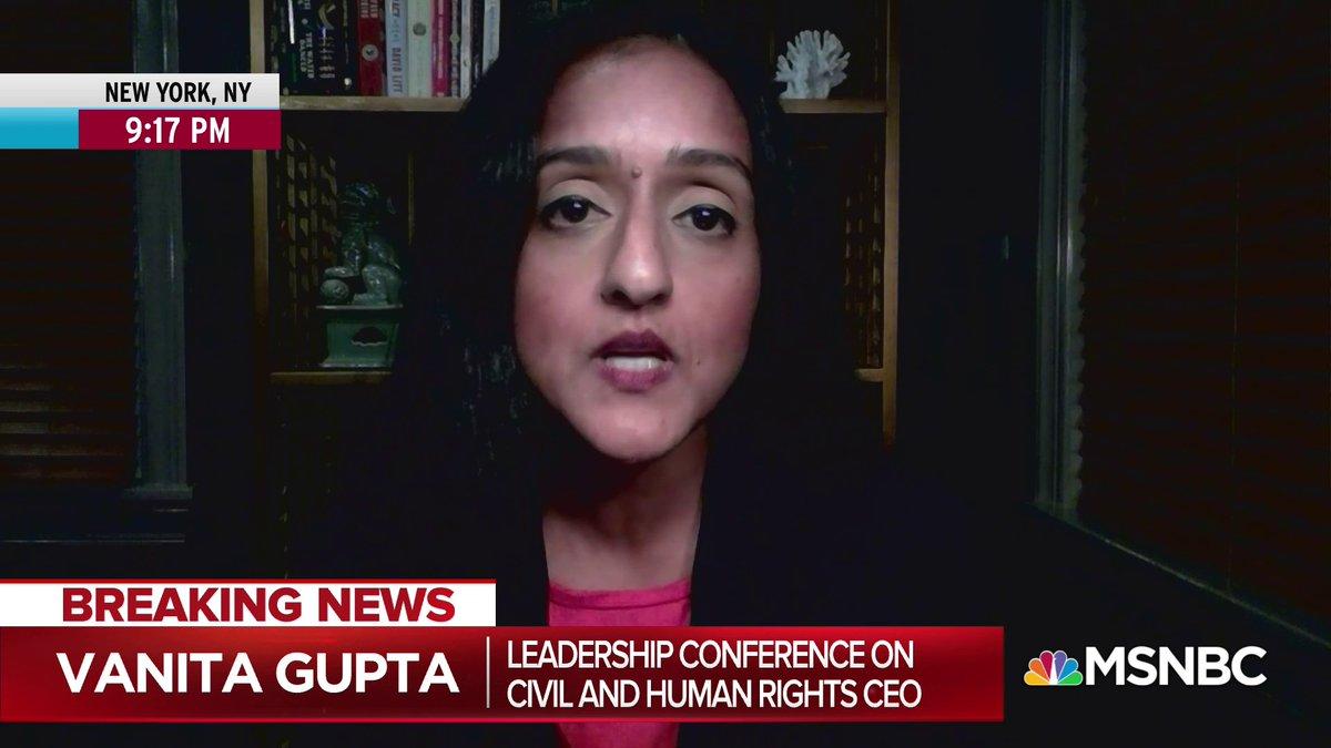 Vanita Gupta: '[Kamala Harris] reflects the coalition that is the future of America.'