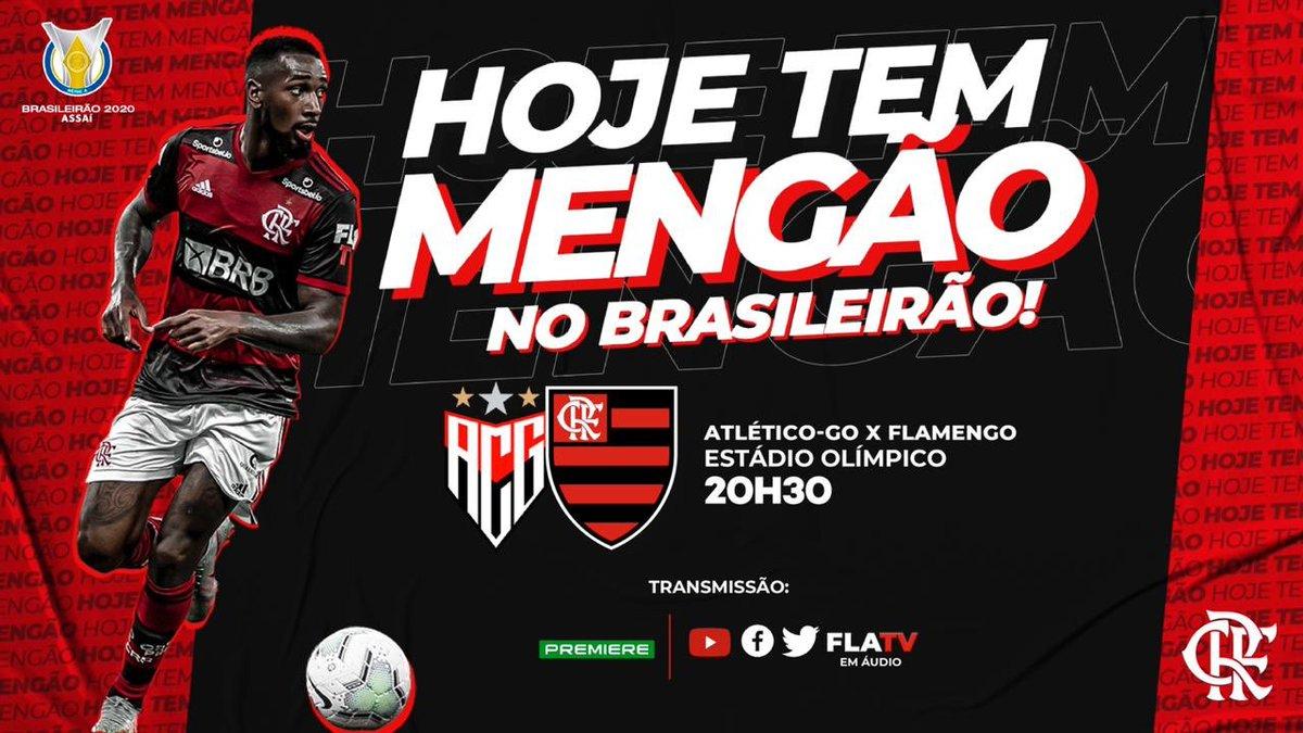 Flamengo On Twitter Hoje Tem Mengao O Mais Querido Enfrenta O Atletico Go Em Goiania As 20h30 Pela Segunda Rodada Do Campeonato Brasileiro Vamos Com Tudo Nacao A Flatv Transmite Em Audio