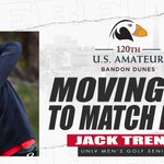 Image for the Tweet beginning: Jack Trent advancing to match