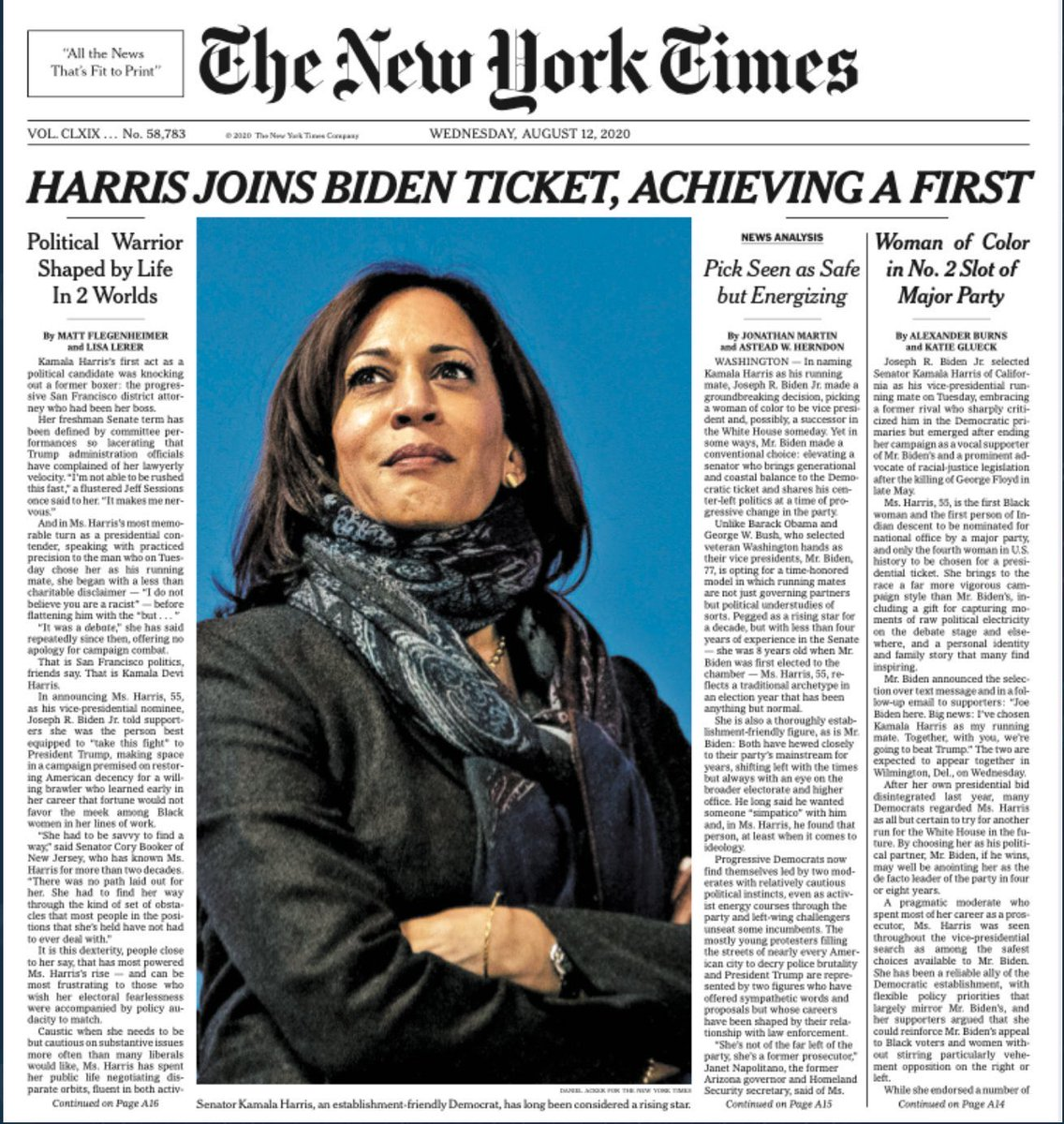 Tomorrow's NYT front page >>