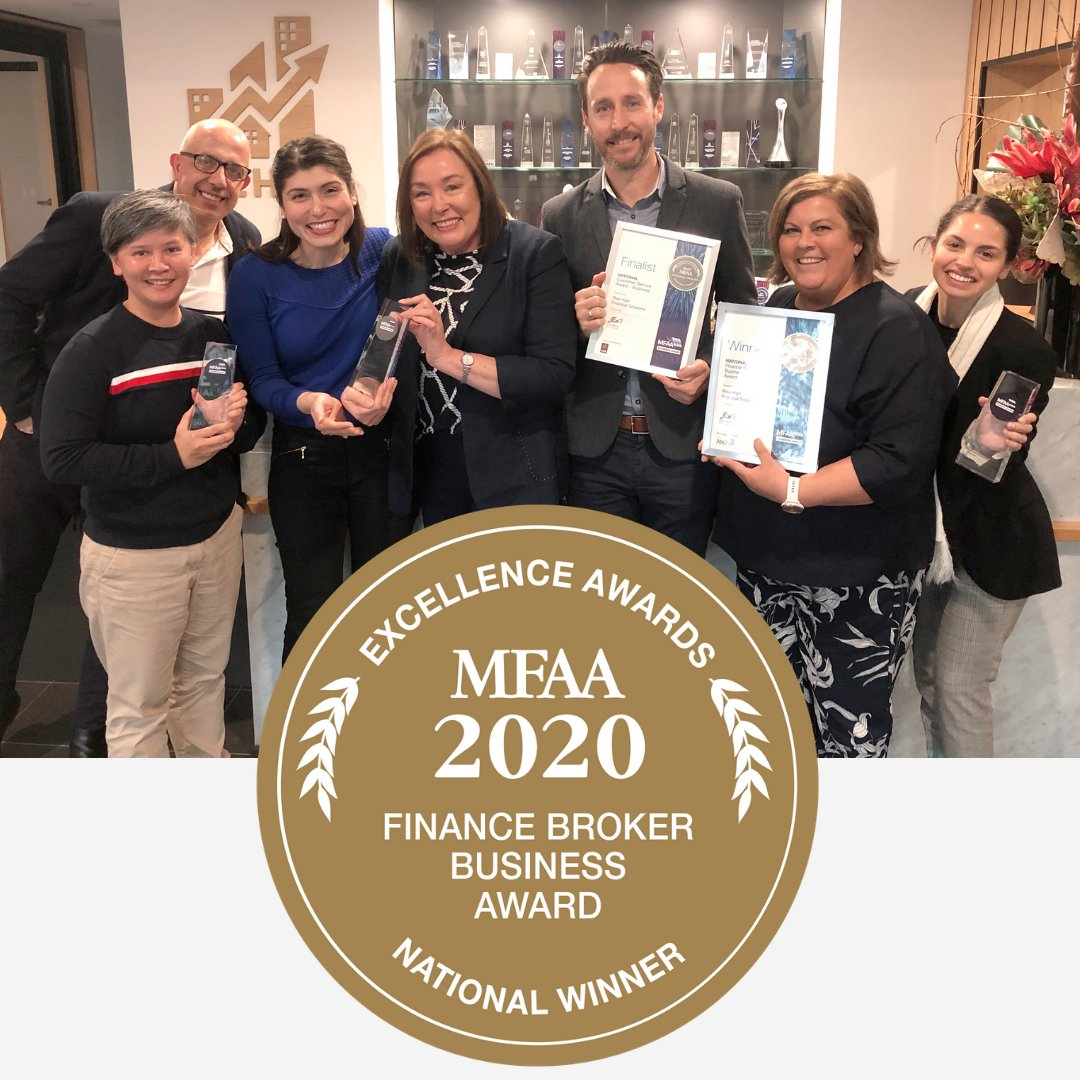 What an amazing achievement!  For the third time, Rise High have been named the BEST Finance Broker Business in Australia!  This would not have been possible without the support of our clients - thank you so much for trusting us with your dreams! . #risehigh #finance #mfaaawardpic.twitter.com/VpPVauHrd2