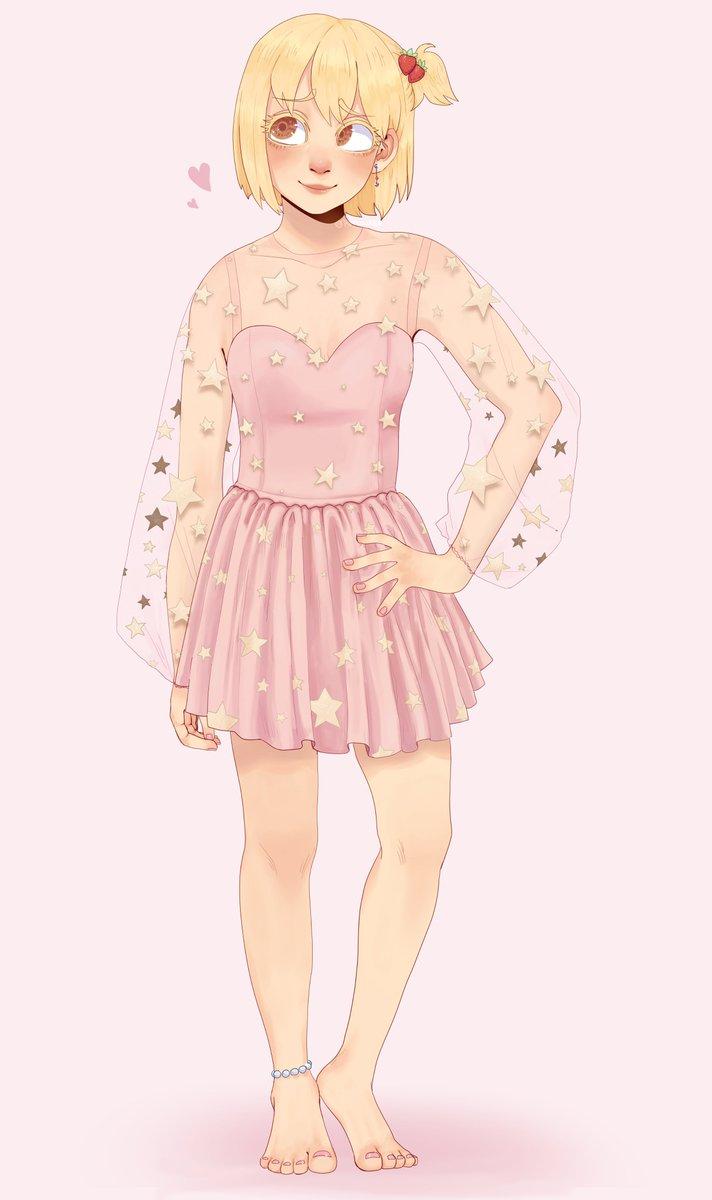 Yachi in the Teuta Dress by Lirika Matoshi !🌟   [#Haikyuu #YachiHitoka #Hq ] https://t.co/1mHDgwQcZD
