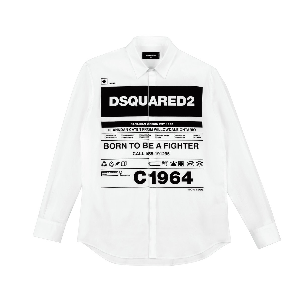 Born to be a fighter #DSQUARED2 #SaksMéxico #menstylepic.twitter.com/uU2NP98QAN