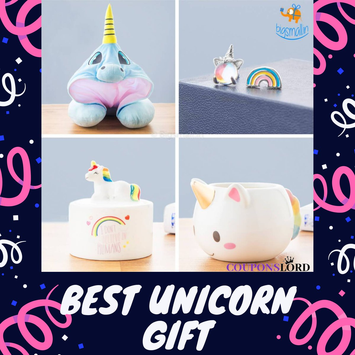 👉Follow @couponslord for more exciting Big Small Coupons & deals. Also EARN CouponsLord Cashback offers on each order  🔥Get 4% cashback from Couponslord 🔥  Link : https://t.co/PLW8kjfiPy  #gift #unicorn #ad #Offers #onlineshop #shopping #saving #coupons #dealsandsteals #Deals https://t.co/CrMezTtZ74