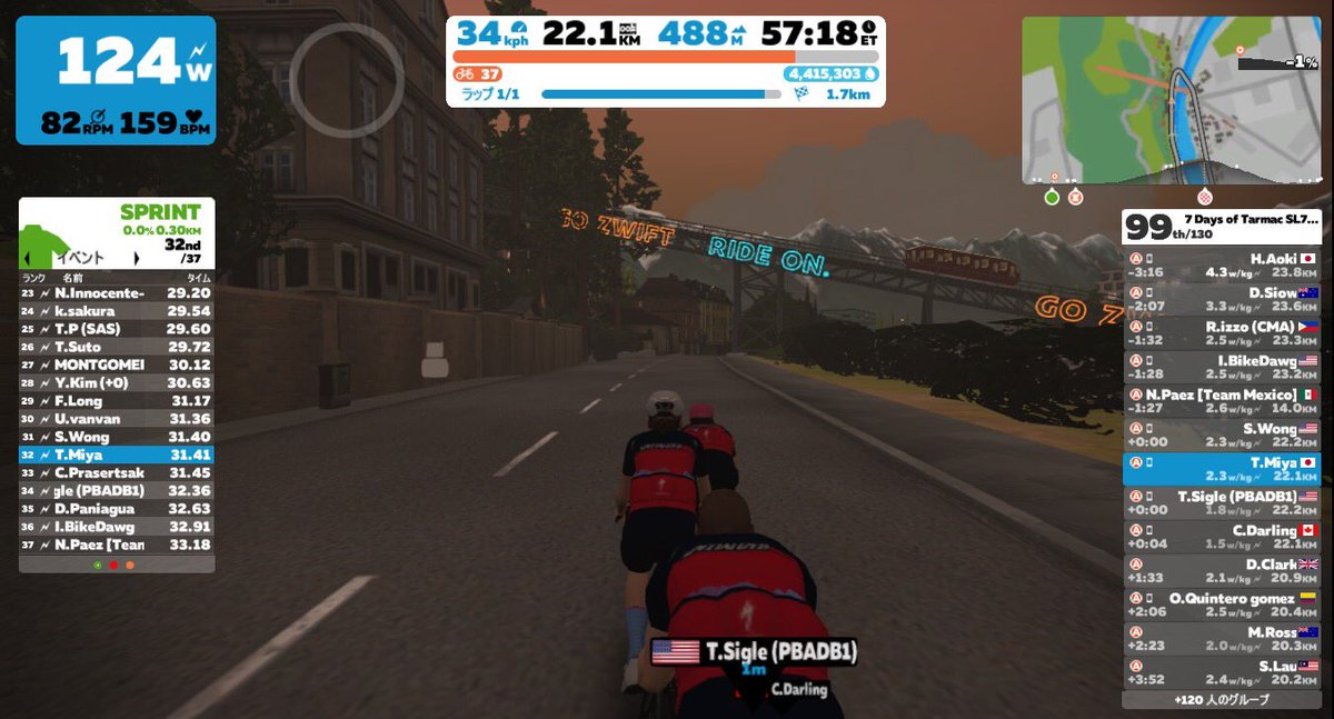 test Twitter Media - SPECIALIZED Tarmac SL7 は良いバイク〜🚴‍♀️ ◼️ Longer Ride - 7 Days of Tarmac SL7: Stage 1 #gozwift #zwift #indoorcycling #indoorcyclist https://t.co/1sERWky28m
