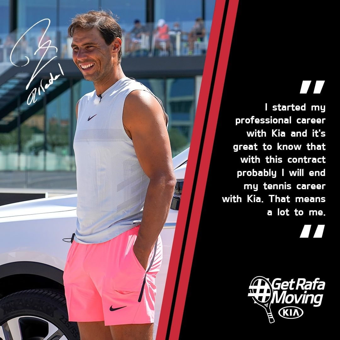 We've been moving with @RafaelNadal for 16 years, we're delighted to continue for another 5. Vamos Rafa #GetRafaMoving Call us :Baner - 9373132100 /Tilak Road -9373133100  #Kia #KiaTennis #Nadal #GetRafaMoving #KiaSonet #Kiacarnival #KiaSeltos #Crystalautokia #Kia #Kiashowroom https://t.co/kW5Ac00Se1